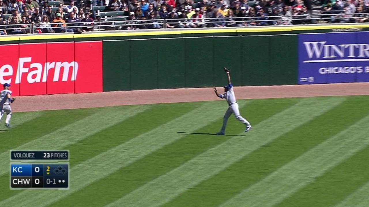 Cain's leaping grab