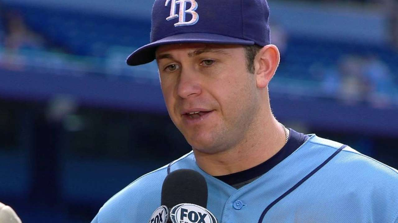 Longoria on win over Blue Jays