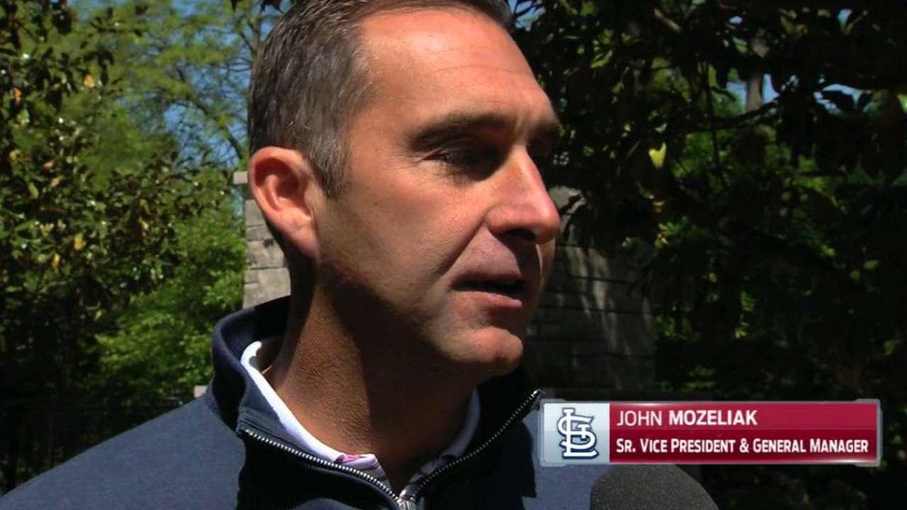 Mozeliak on Wainwright injury