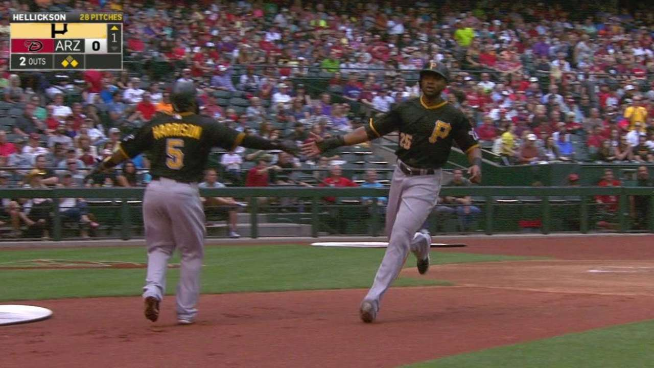 Liriano notches first win as Pirates pull away