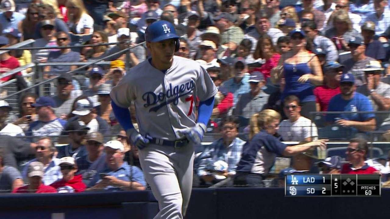 Guerrero's hot bat forcing Dodgers' hands