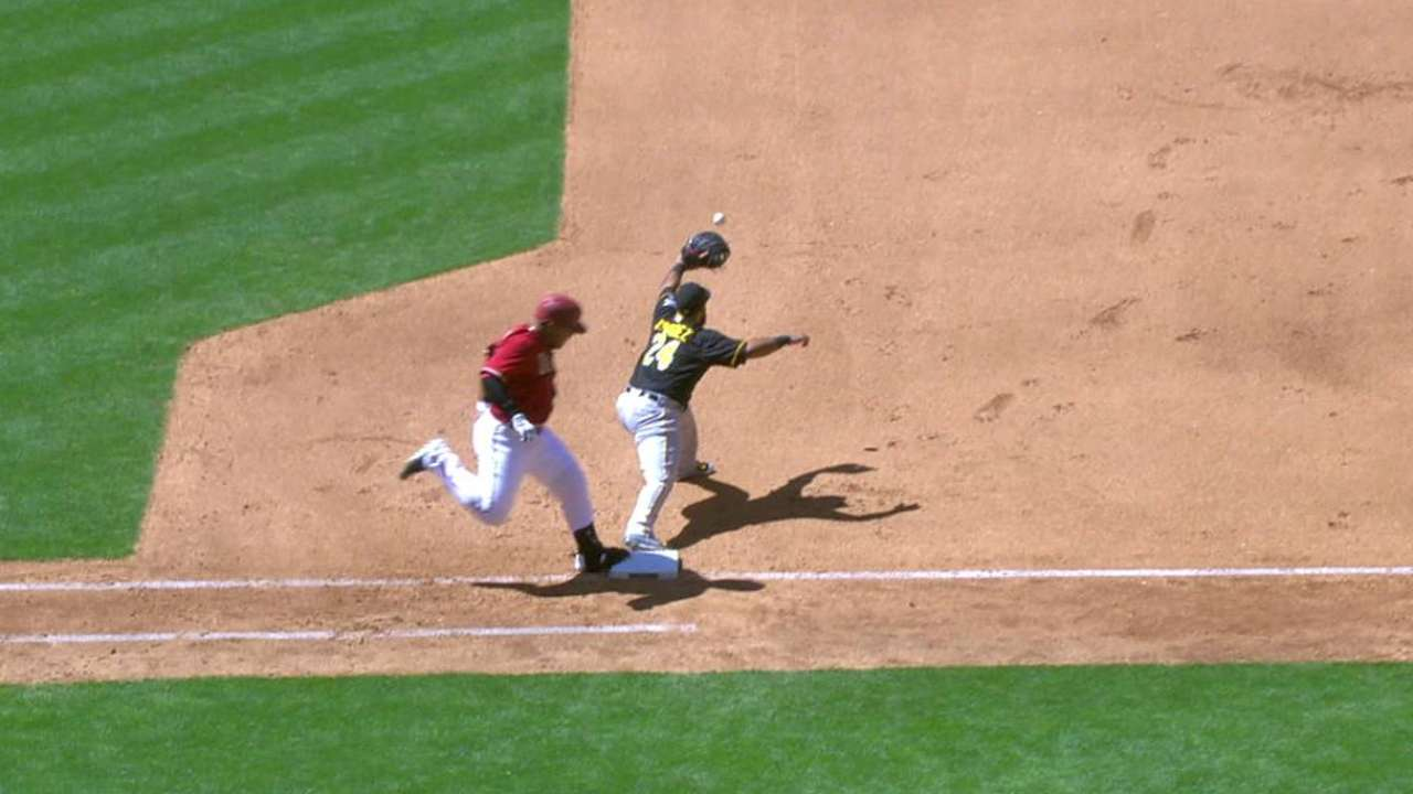 D-backs challenge out call