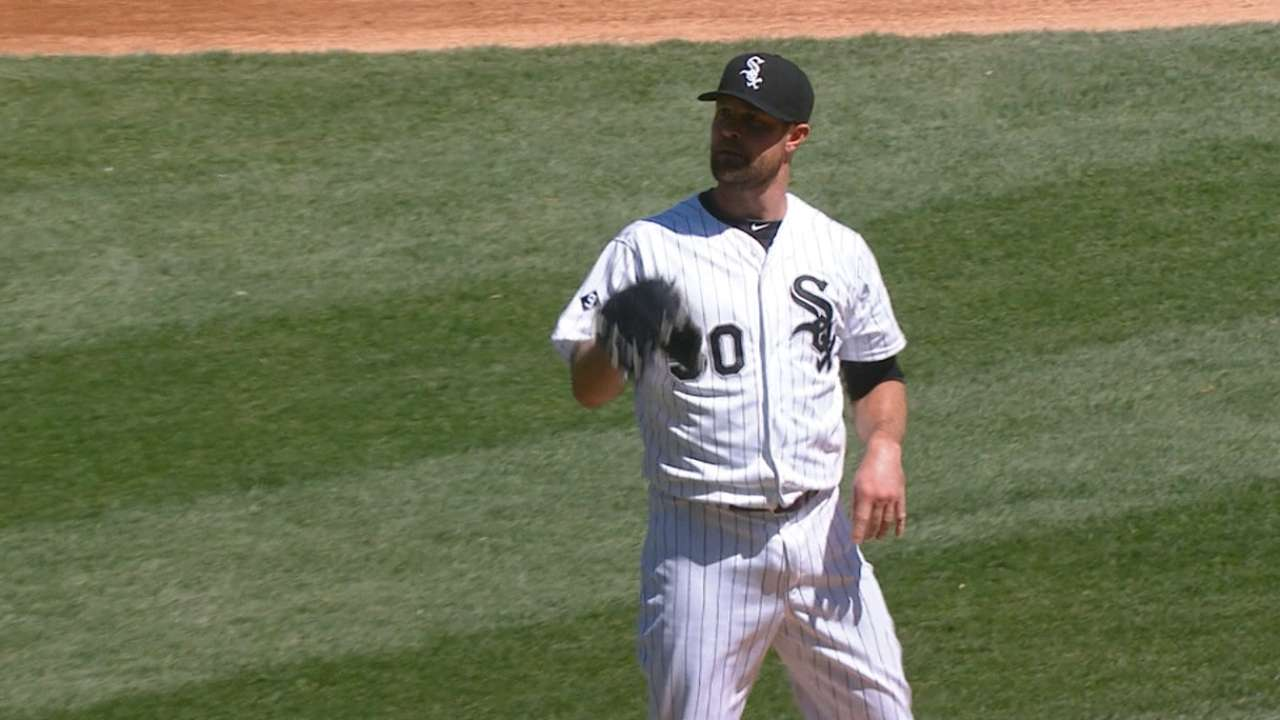 Danks' strong outing
