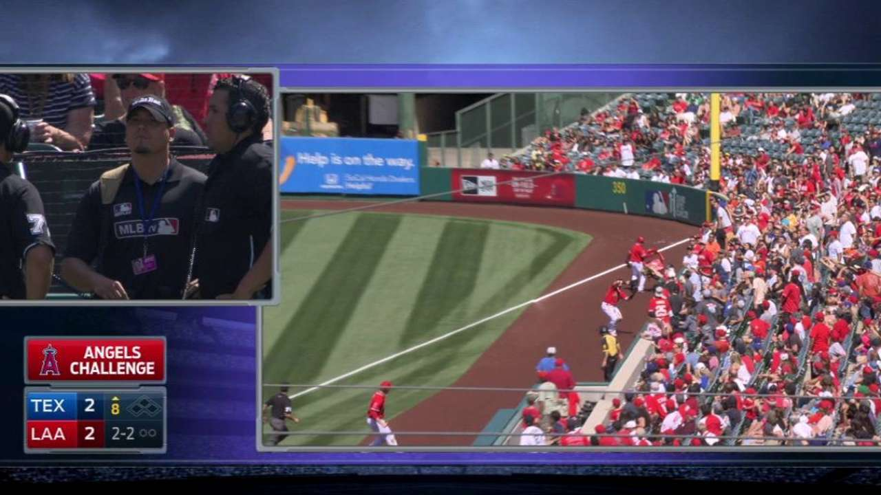Banister ejected after disputing reversal on fan interference