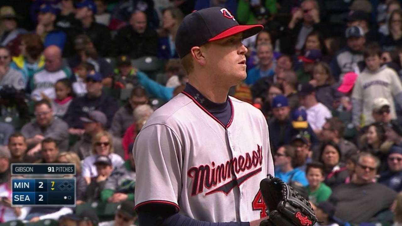 Gibson rewards Twins' faith in quality outing