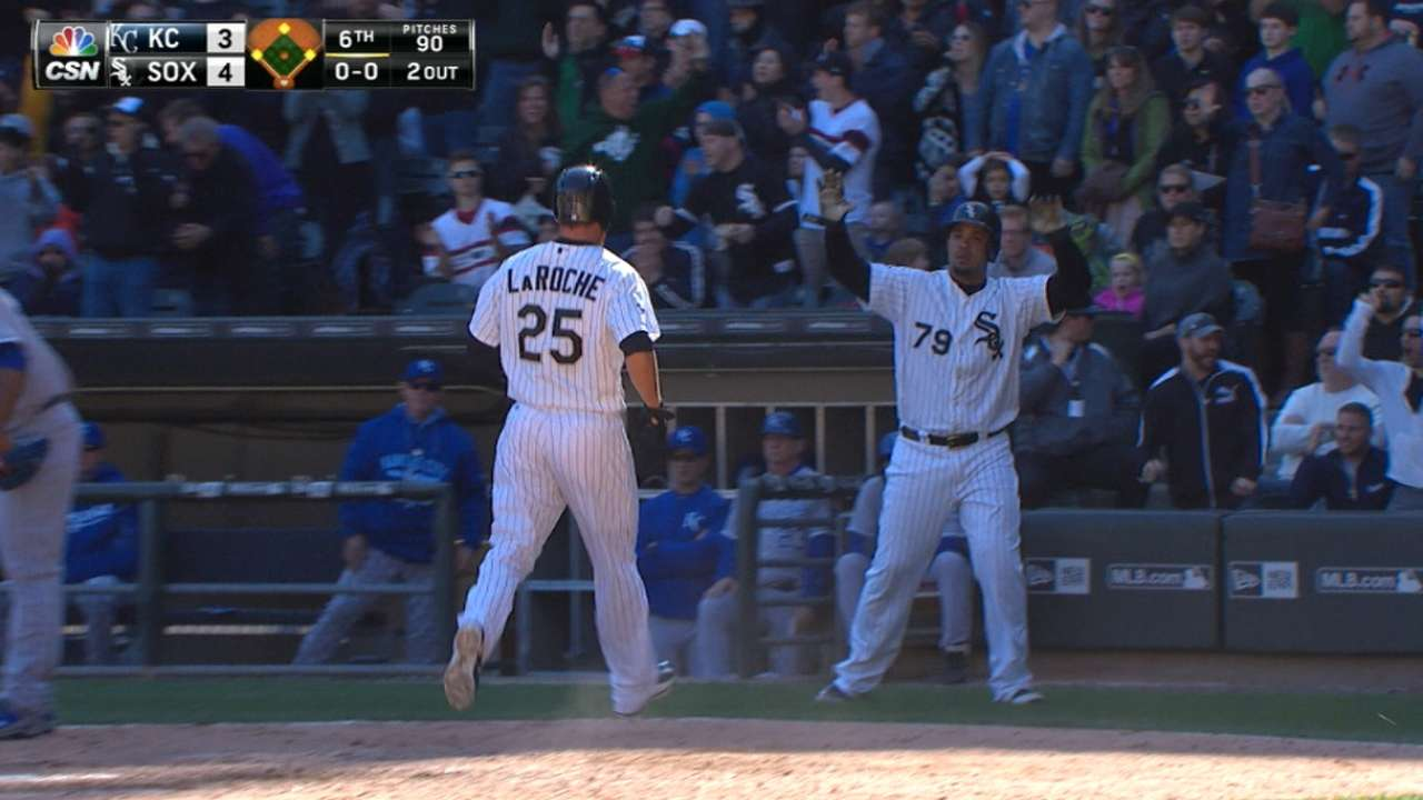 White Sox grab lead with five-run sixth, then hold off Royals