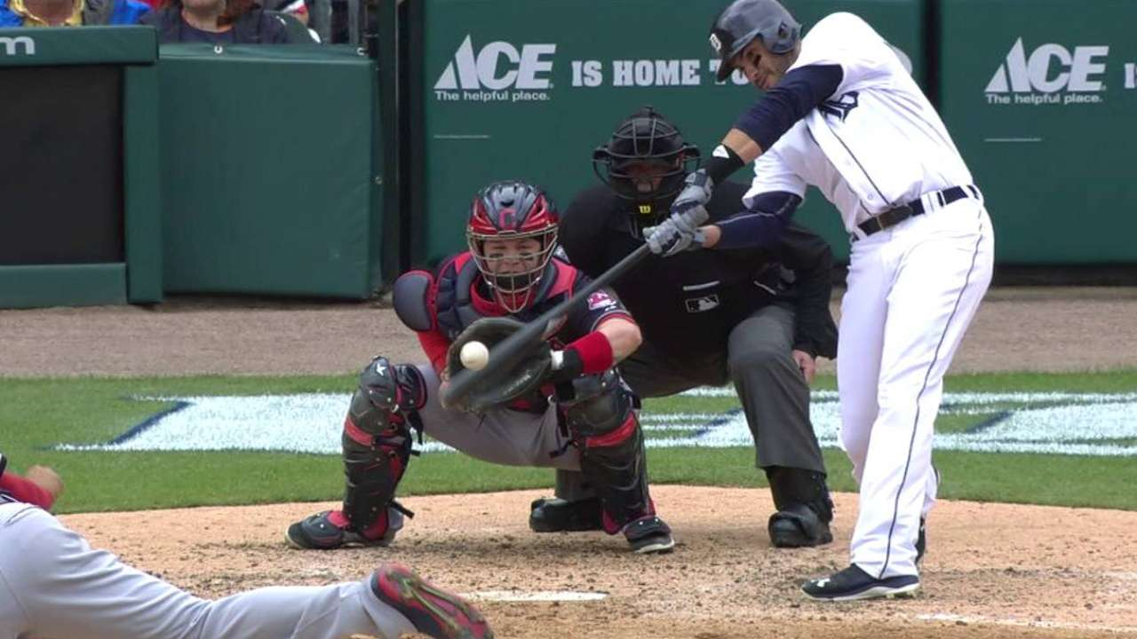 J.D. Martinez's two-run double