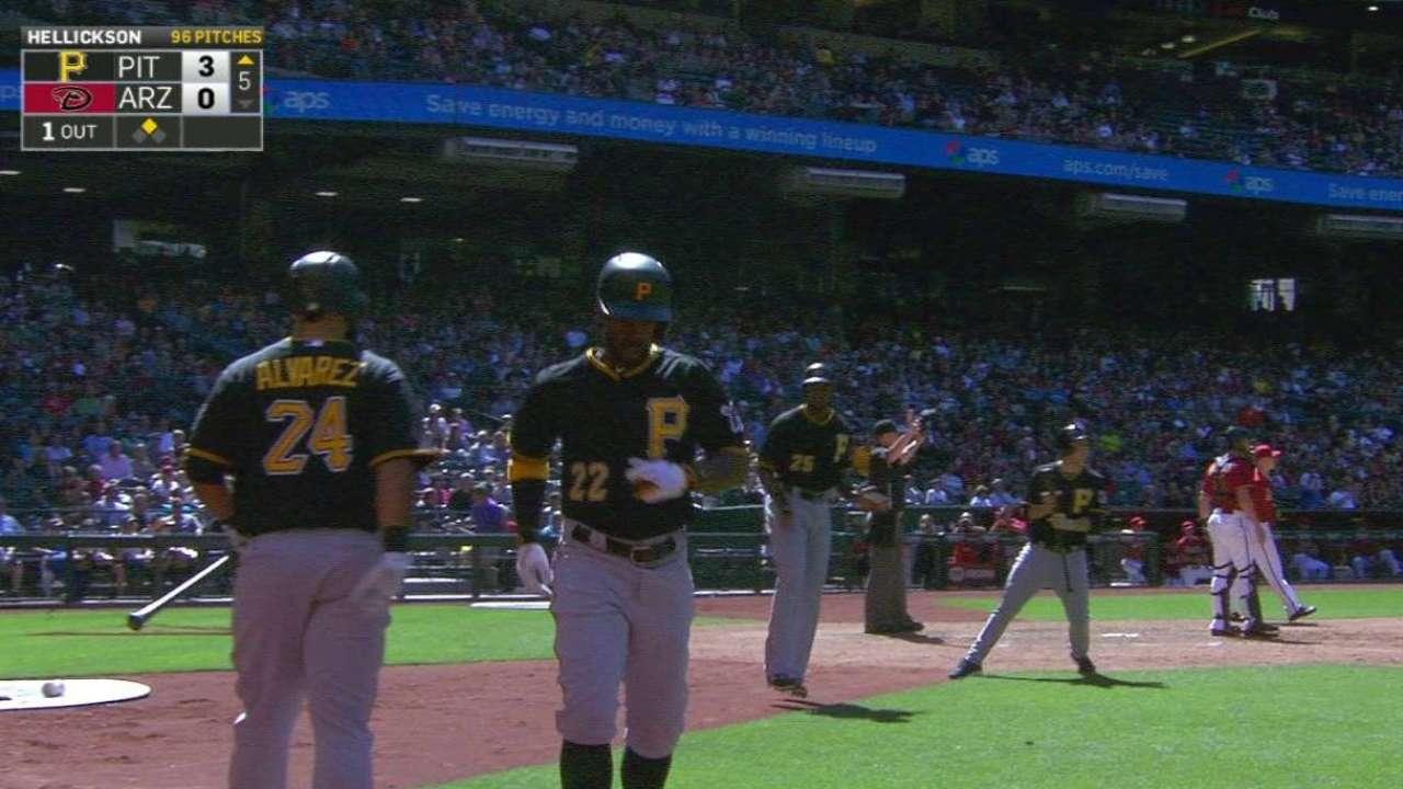 Pirates stepping up during McCutchen's slump