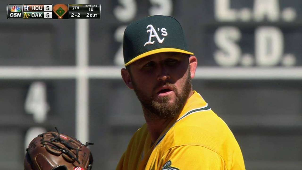 Inbox: Should A's do something about 'pen's struggles?