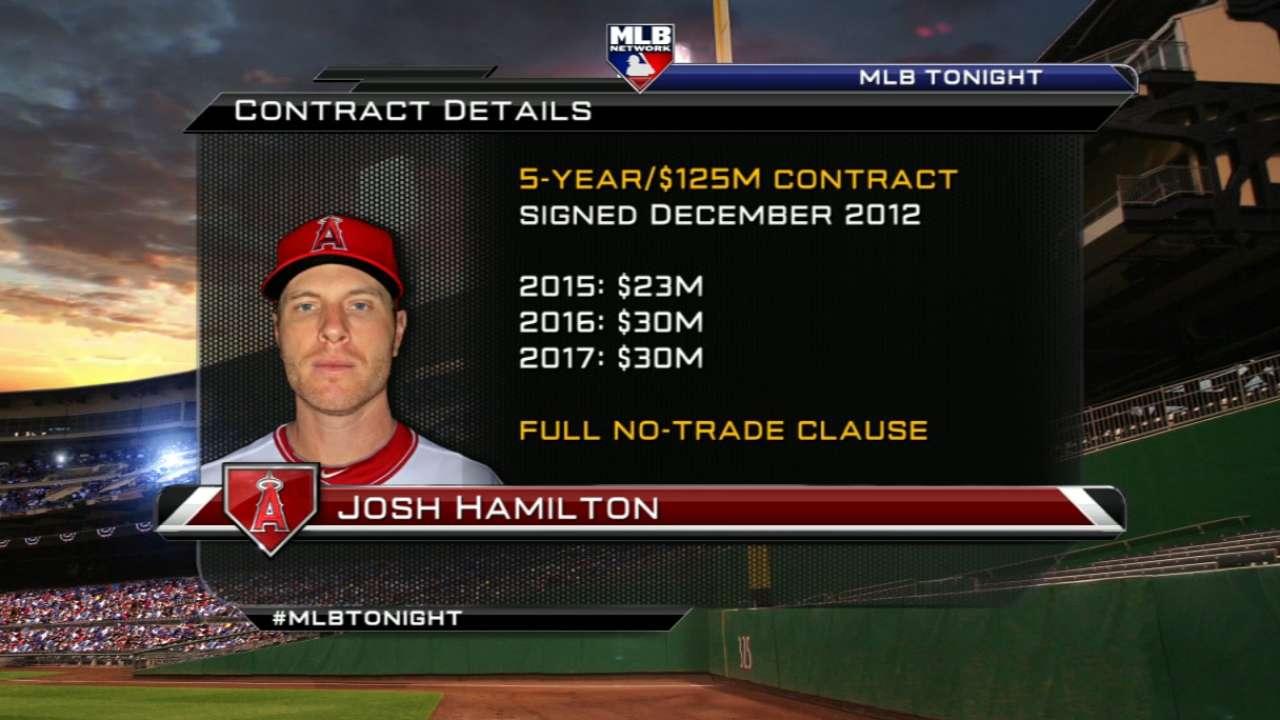 MLB Tonight: Josh Hamilton