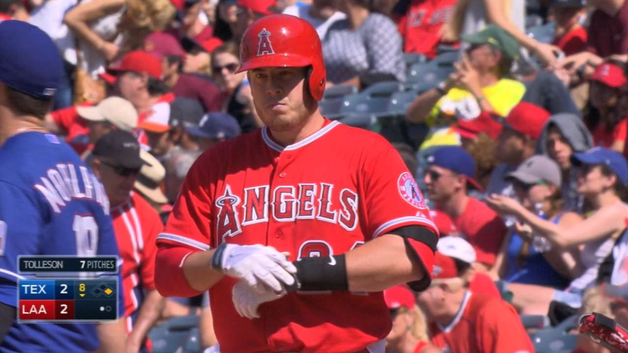 Cron collects four hits