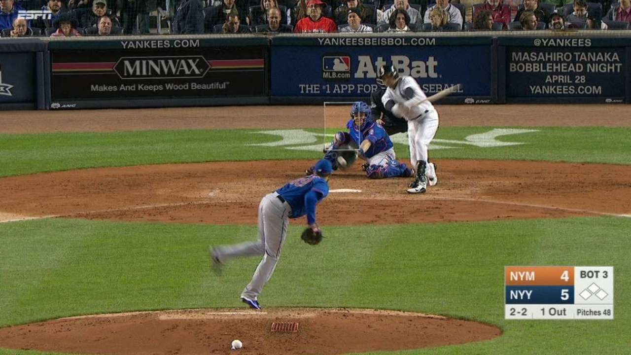Niese wishes he 'could have a couple pitches back'