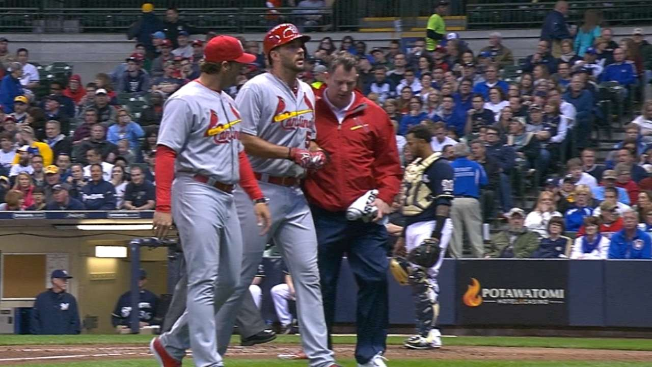 Wainwright out for the year