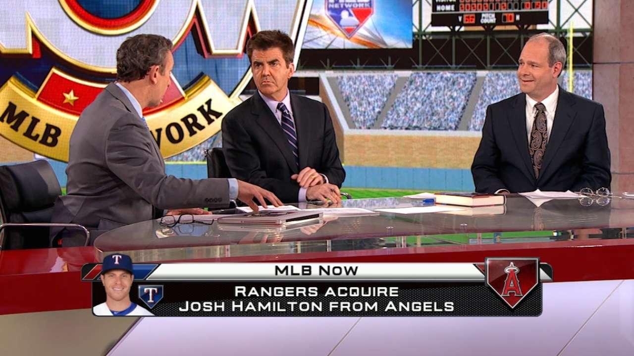 MLB Now on Hamilton to Rangers
