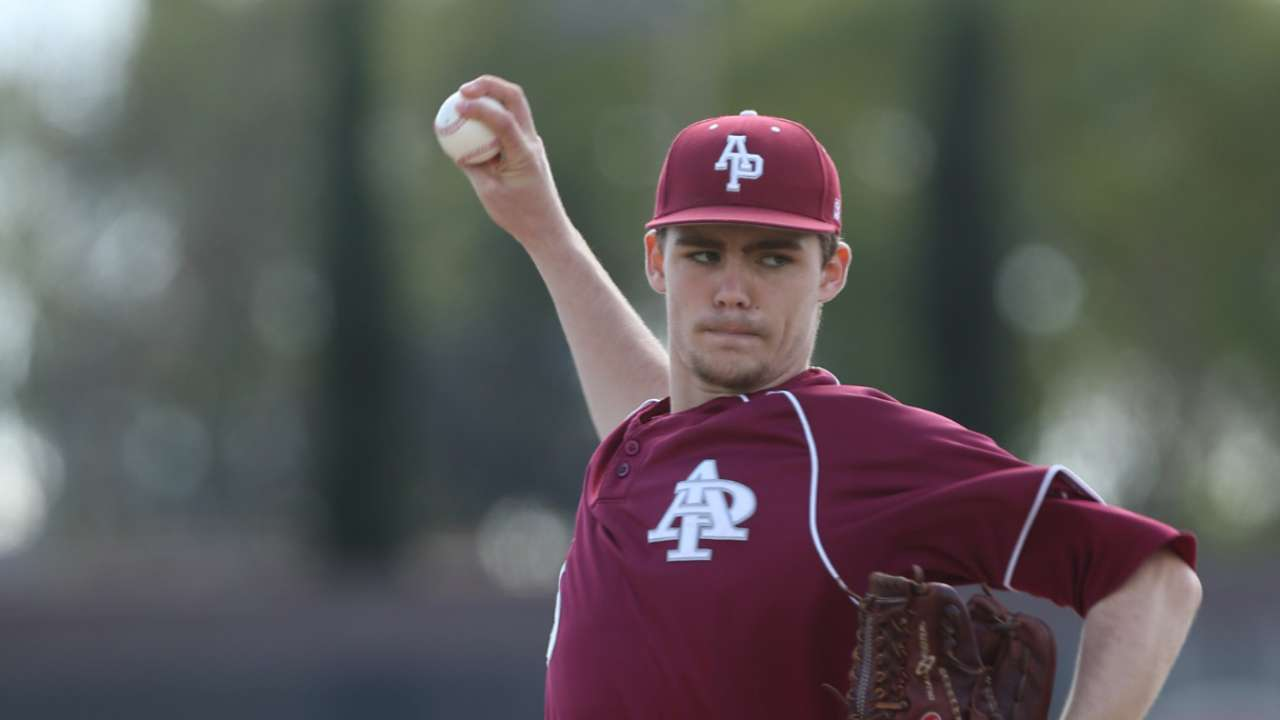 2015 Draft: Josh Staumont, P