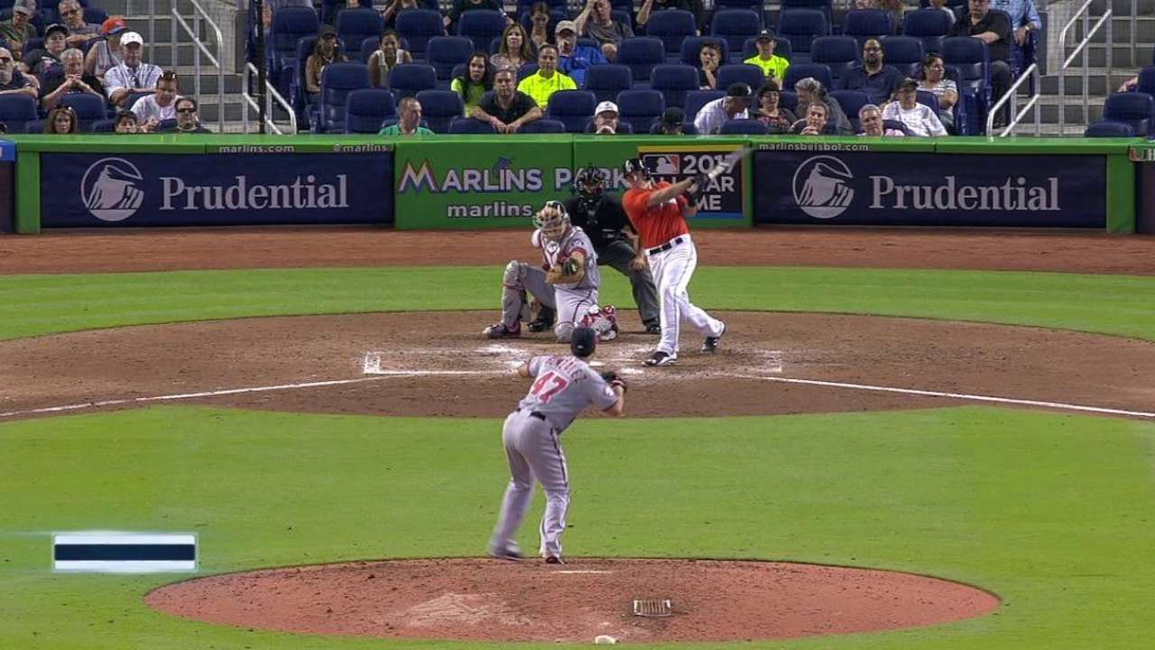 Realmuto triples in the 6th