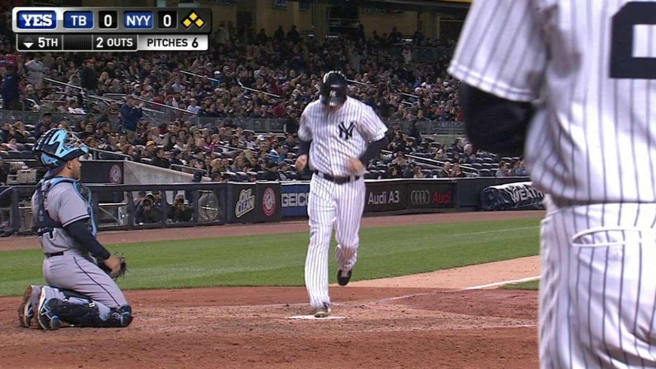 Gardner's bases-loaded walk