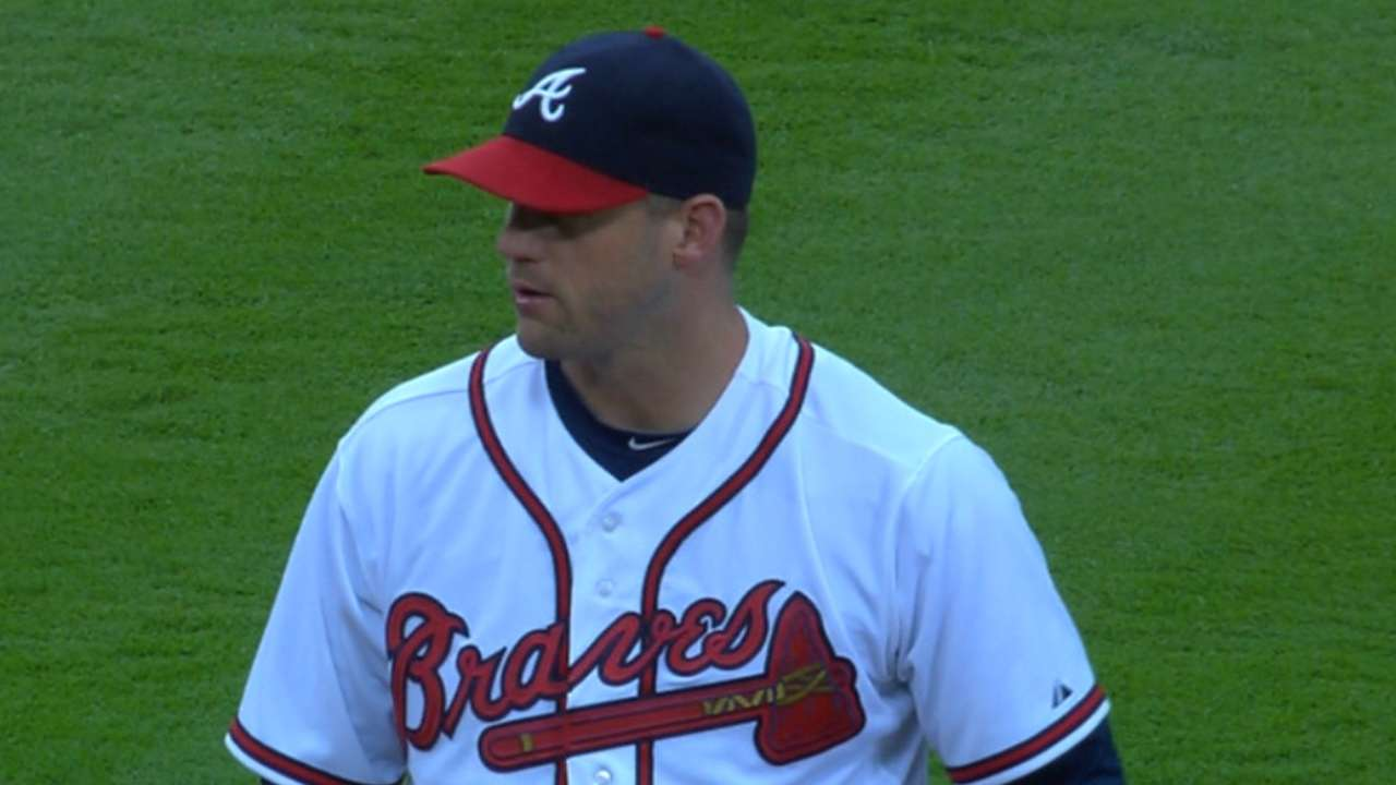 Stults, Johnson lead Braves past Nationals