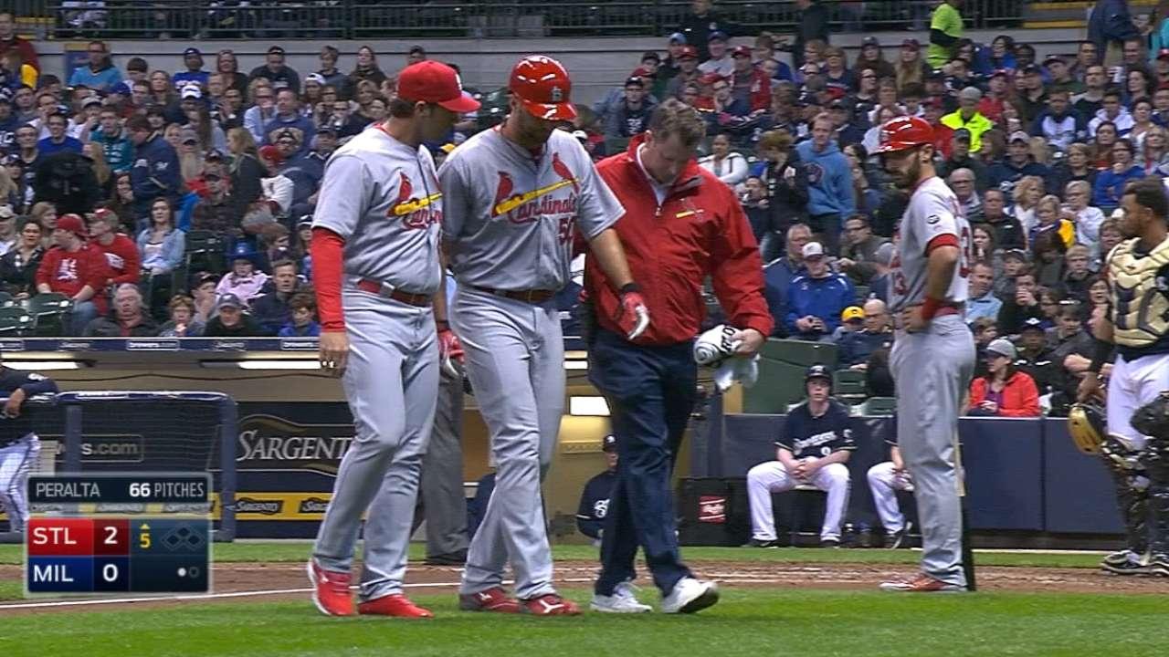 Mozeliak on Wainwright's injury