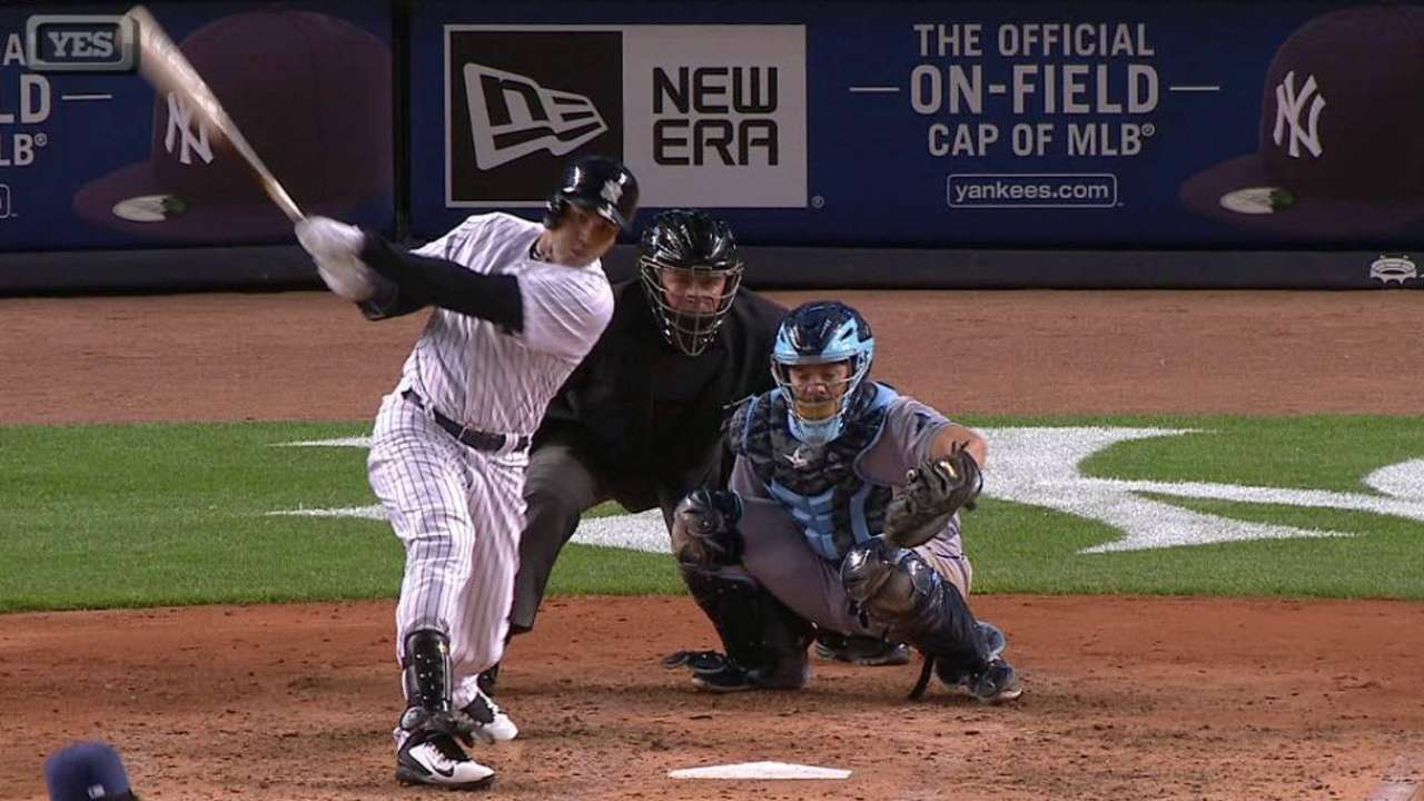 Beltran's deep double a welcome sign for Yankees