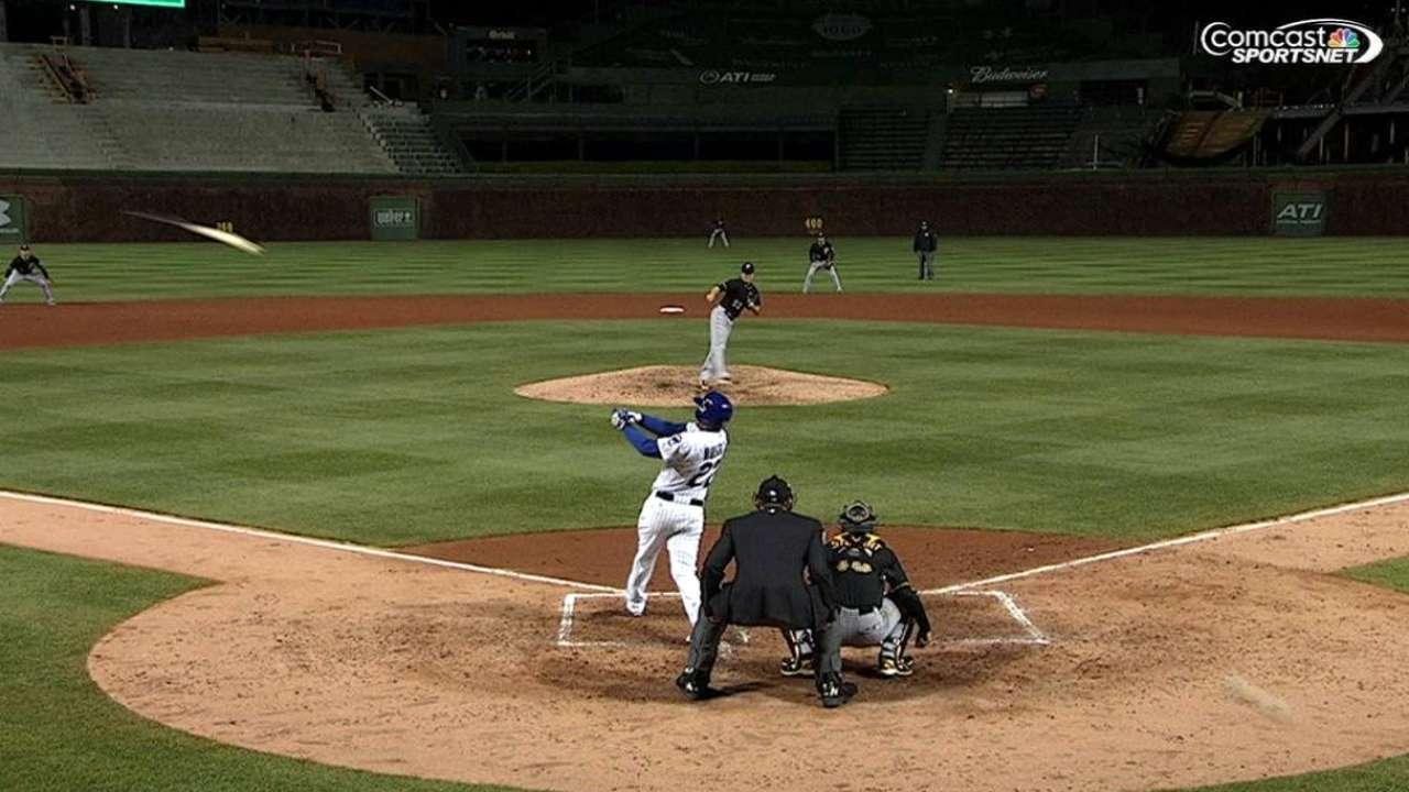 Cubs fan hit by bat, taken to Chicago hospital