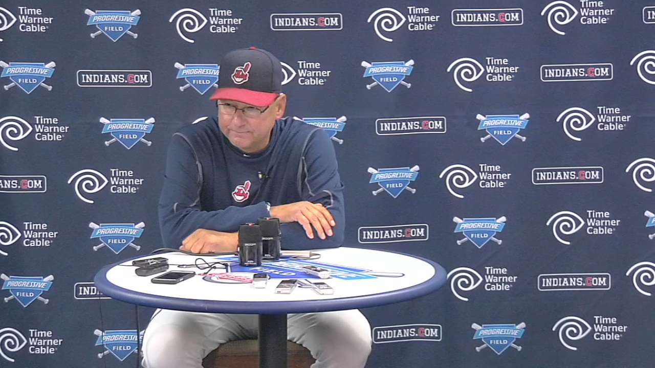 Tito stresses focus, attention to detail in team meeting