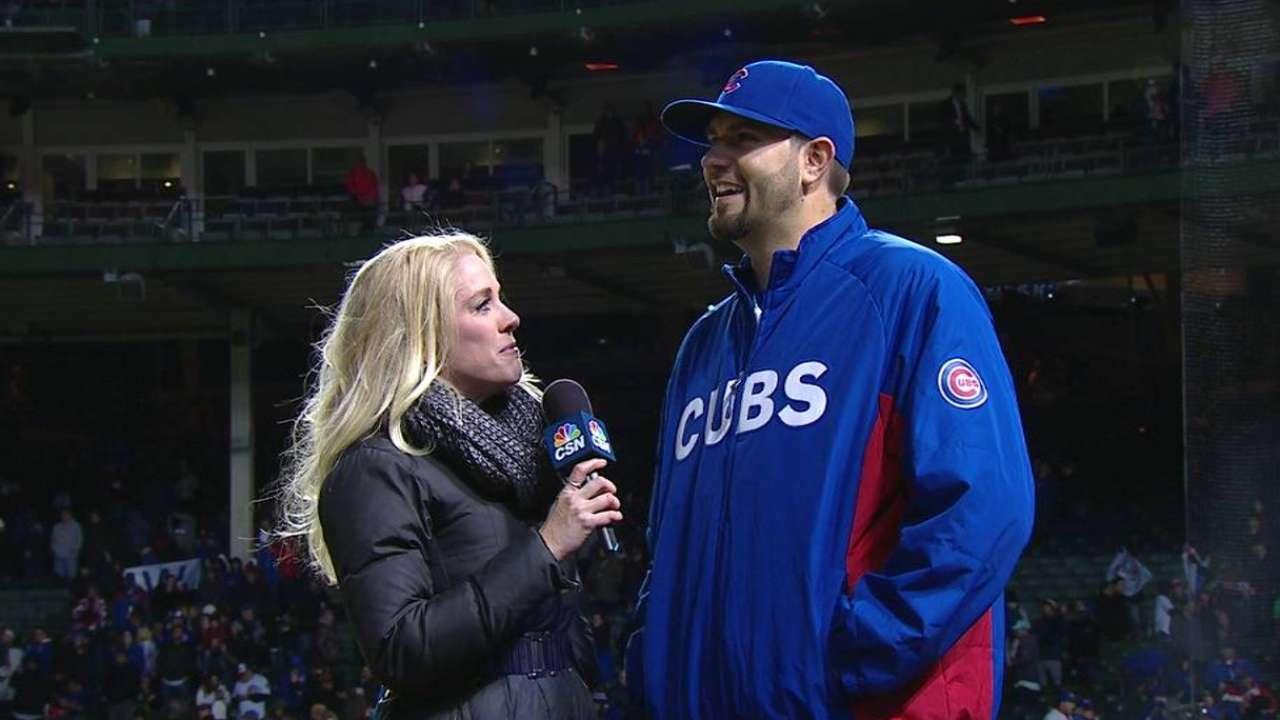 Hammel discusses Cubs' 4-0 win