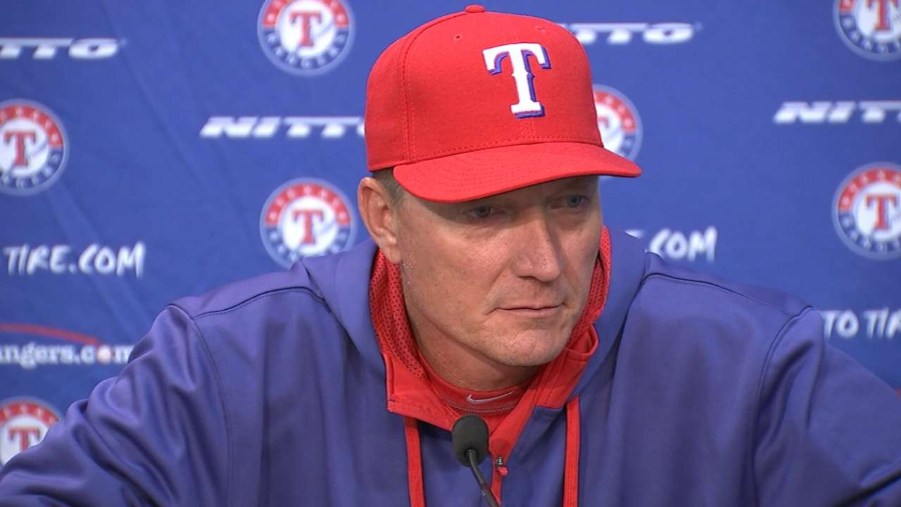 Rangers continue to work through offensive struggles