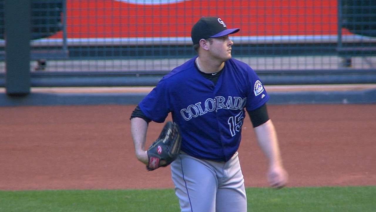 Matzek, Weiss not concerned about lefty's hamstring cramp