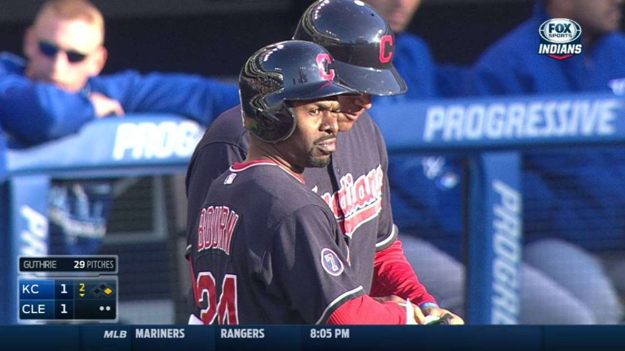 Bourn's two-run single