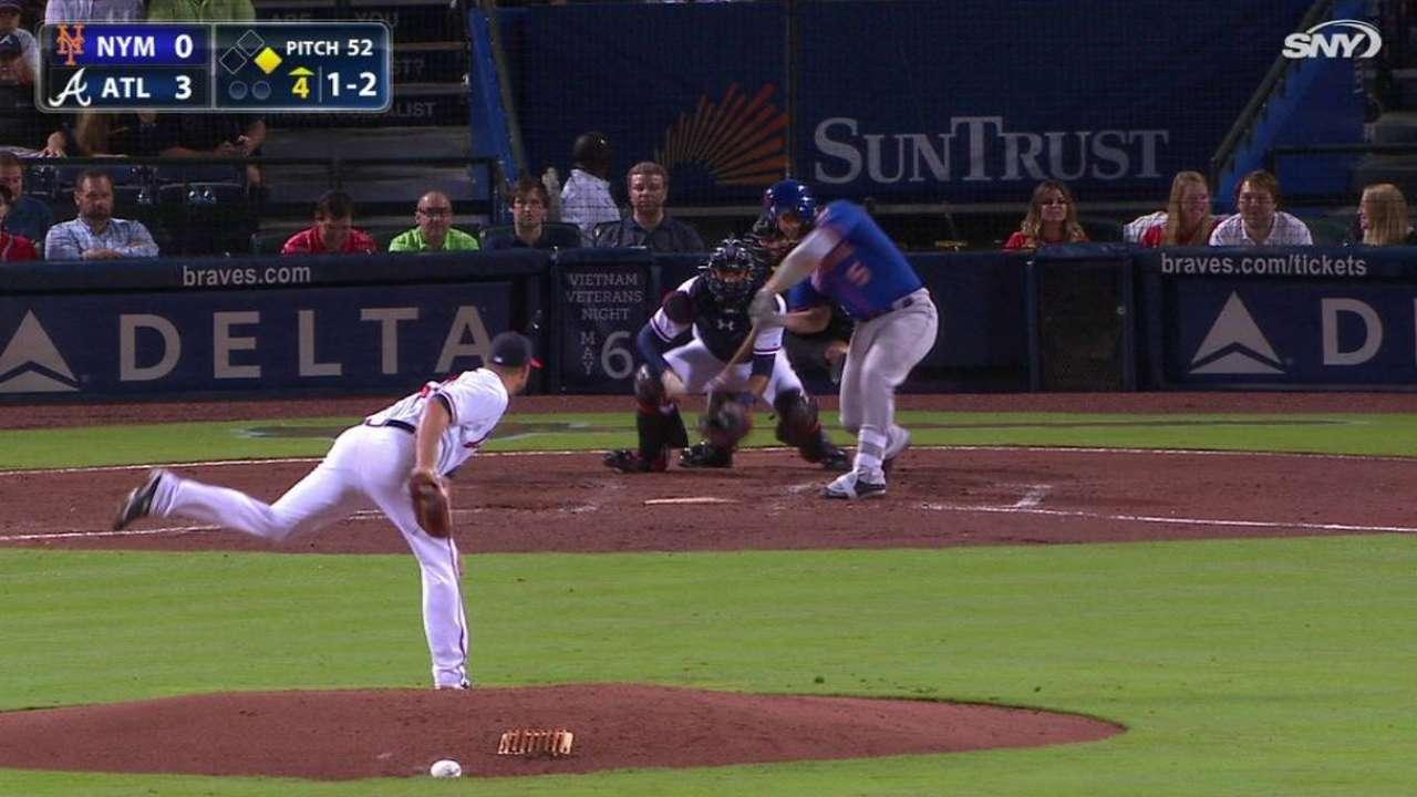 Wright's two-run homer