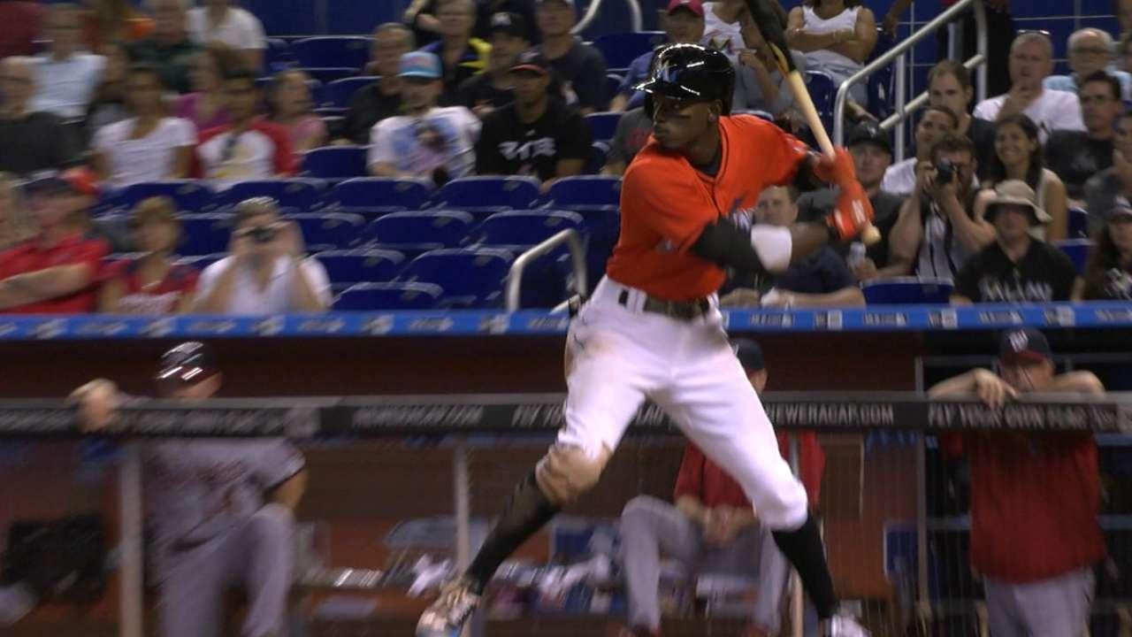 Gordon's four-hit game