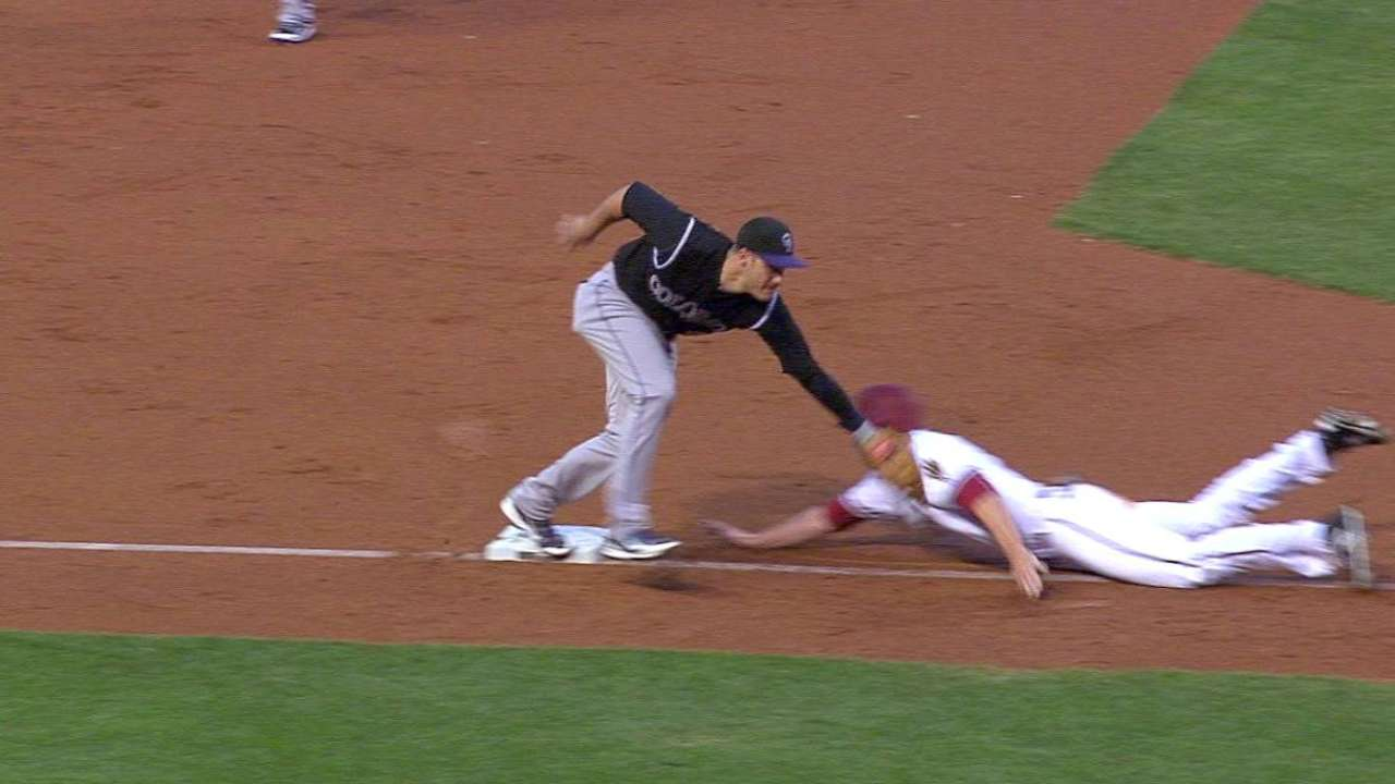 Arenado turns sweet double play
