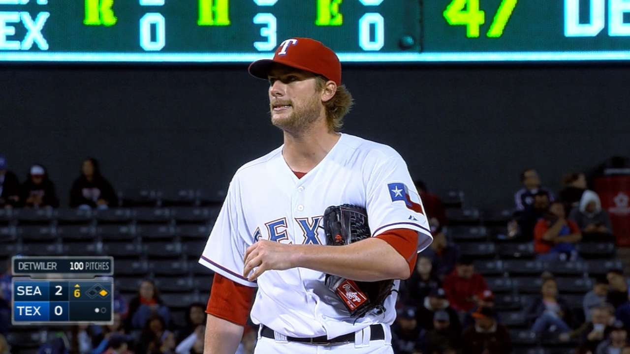Detwiler demonstrates progress in latest outing