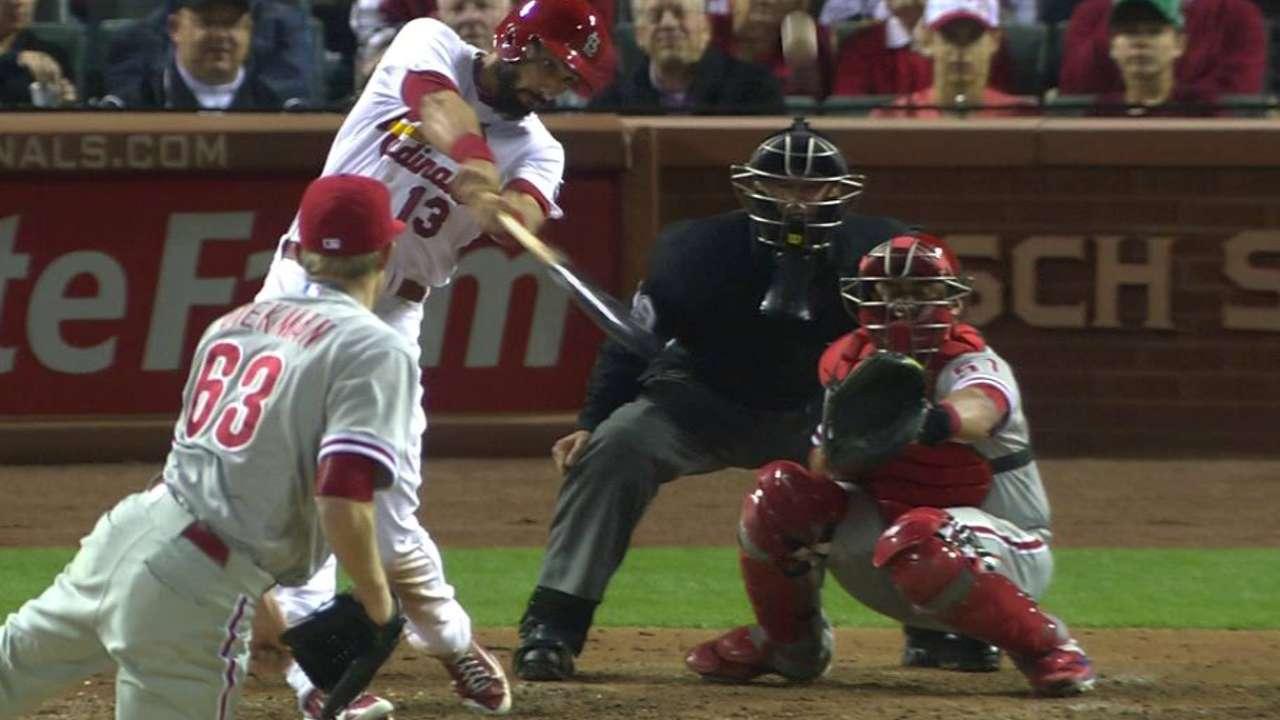 Matheny shakes up lineup and Cardinals respond