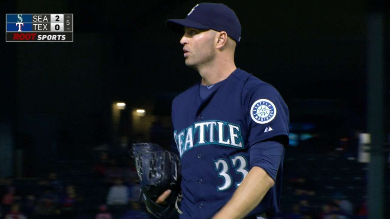 Happ continues to be steady presence for Mariners