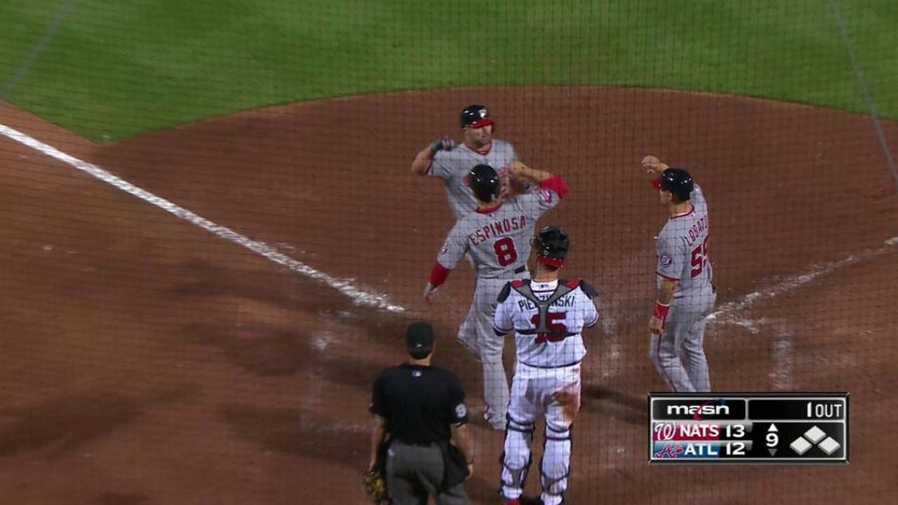Off the bench, Uggla valuable piece for Nats