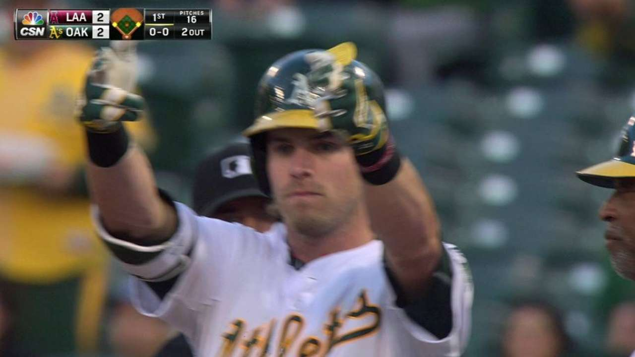 Reddick's two-run single
