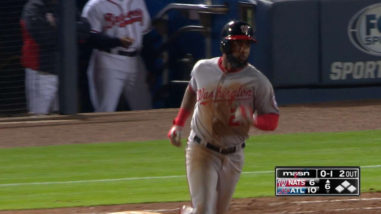 Span's five-hit, four-run game