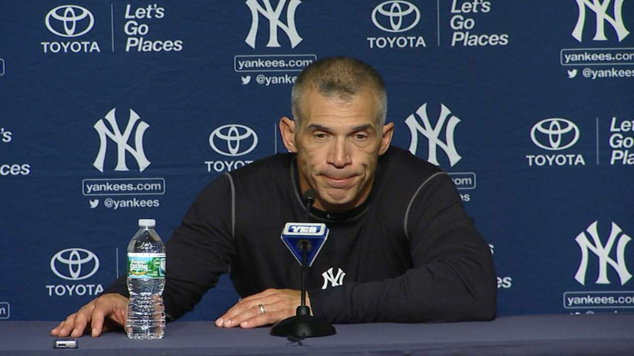 Concerned about Tanaka, Girardi hoping for best