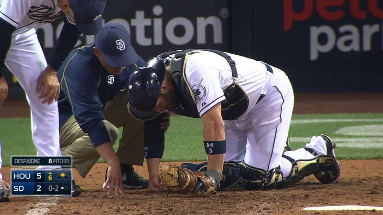 Padres cautious with Norris following ankle injury