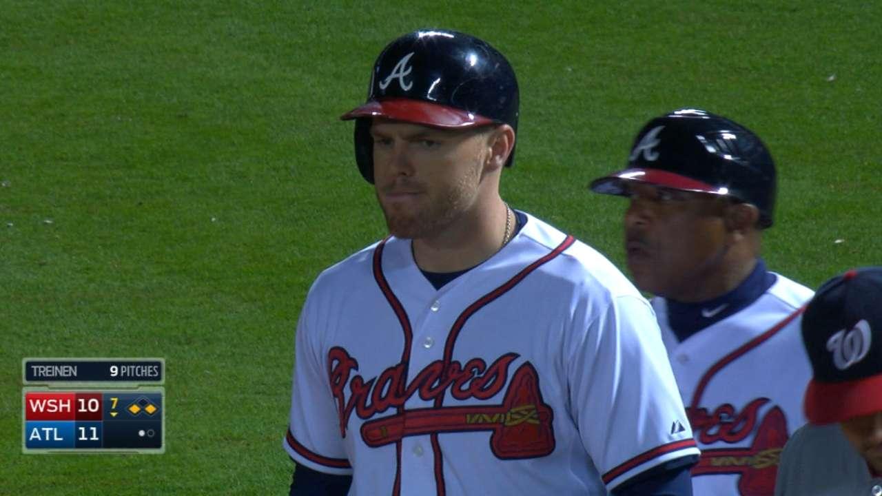 Freeman's four-hit game