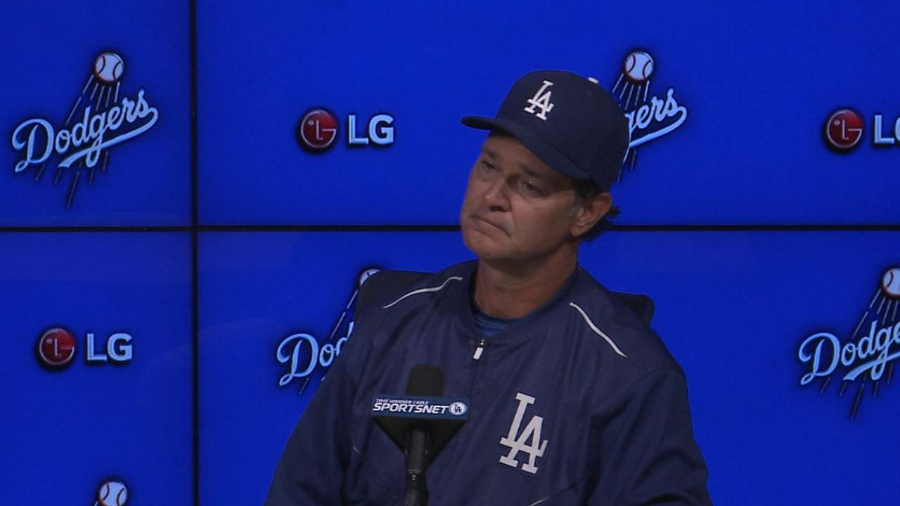Kershaw takes blame for loss despite lack of support