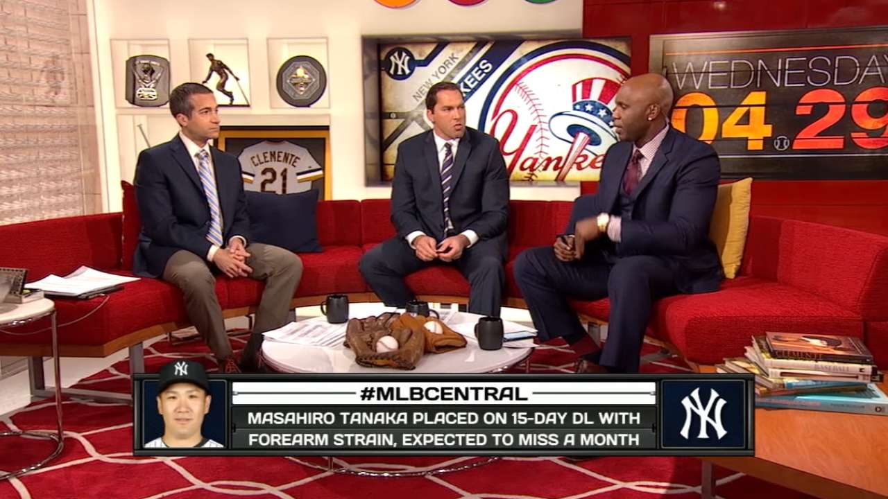 MLB Central on Tanaka's injury