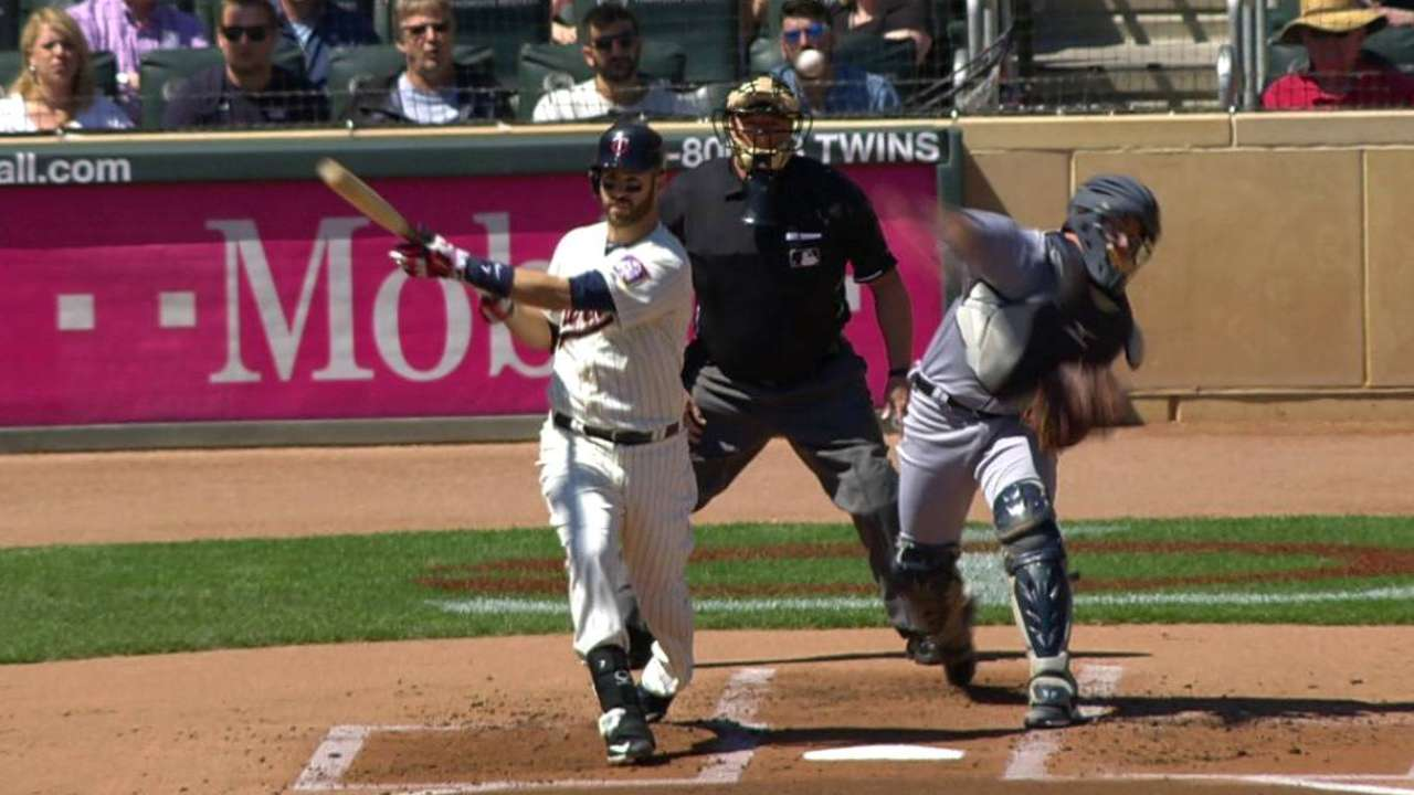 Tigers' double play