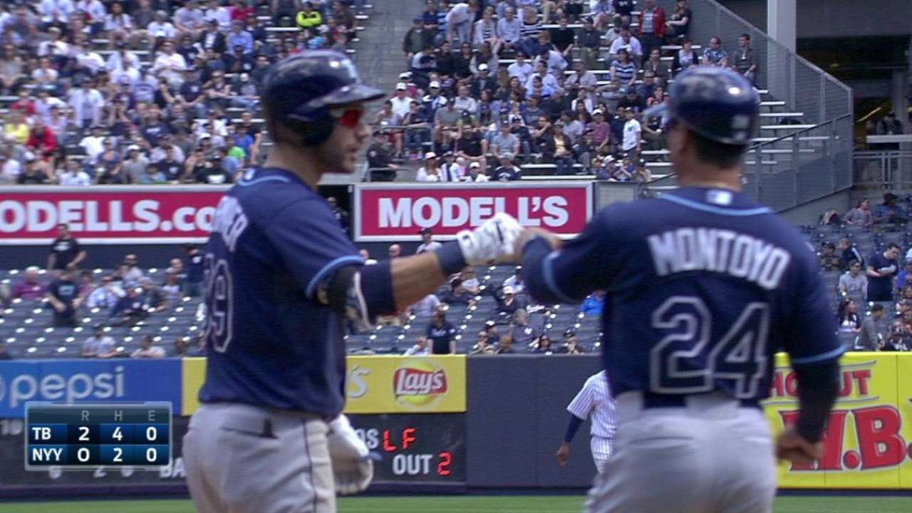 Kiermaier's two-run triple