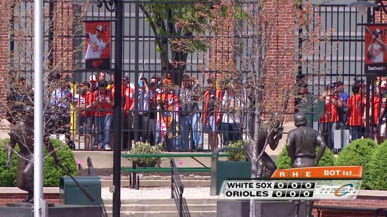 Orioles faithful still watching