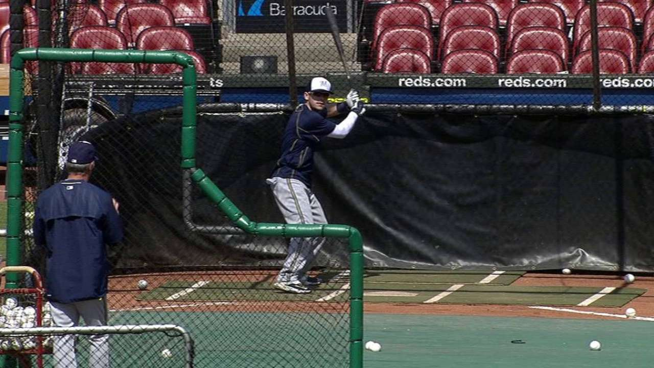Gennett comes off DL; Lucroy makes progress