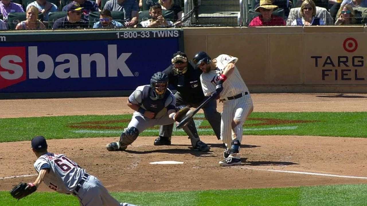 Plouffe's three-run home run