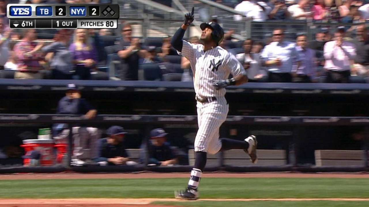 Young's solo homer